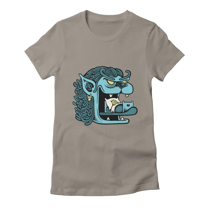 Good night Women's Fitted T-Shirt by cphposter's Artist Shop