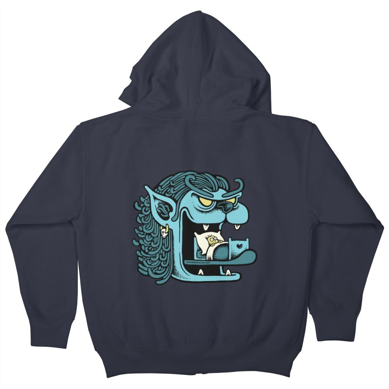 Good night Kids Zip-Up Hoody by cphposter's Artist Shop