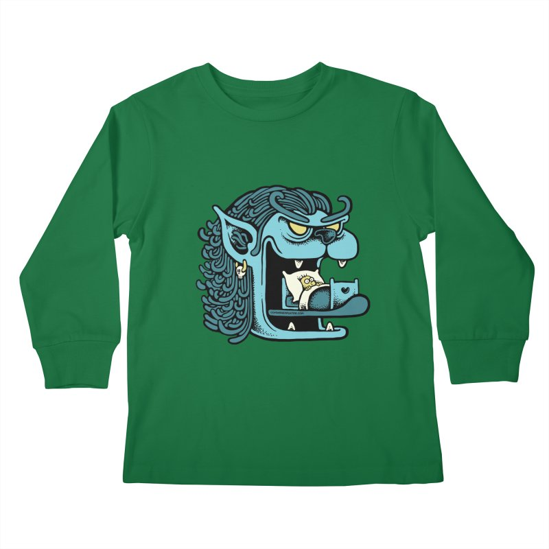 Good night Kids Longsleeve T-Shirt by cphposter's Artist Shop