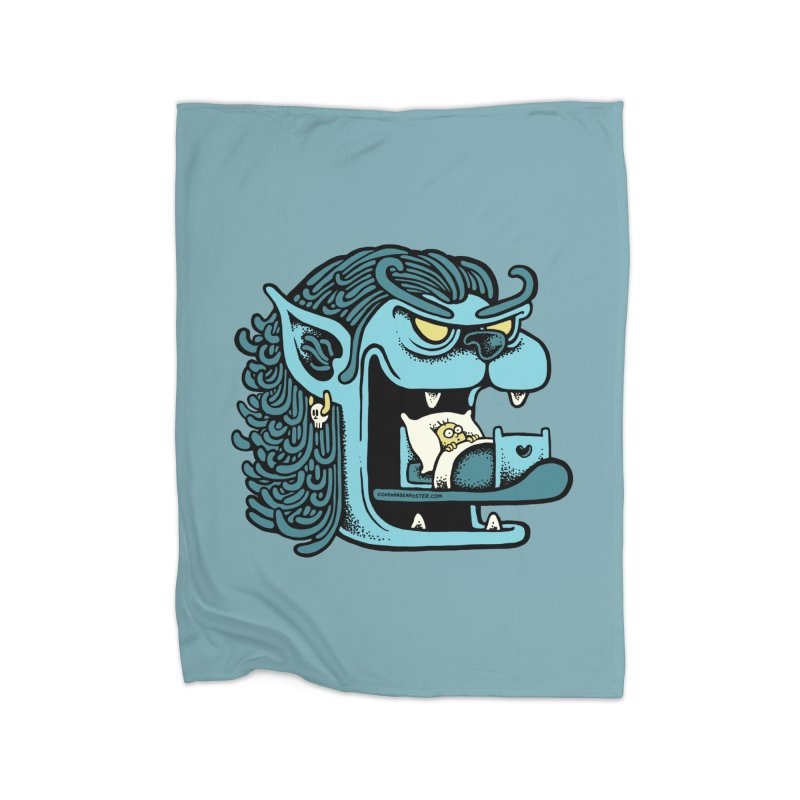 Good night Home Blanket by cphposter's Artist Shop