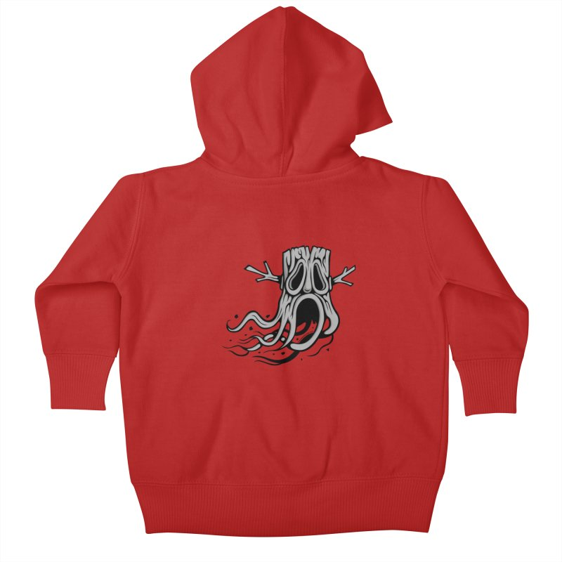 Flying Tree Kids Baby Zip-Up Hoody by cphposter's Artist Shop