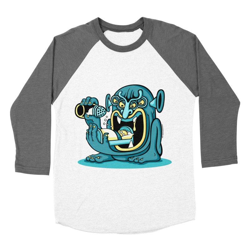 Good Night Salt Men's Baseball Triblend T-Shirt by cphposter's Artist Shop