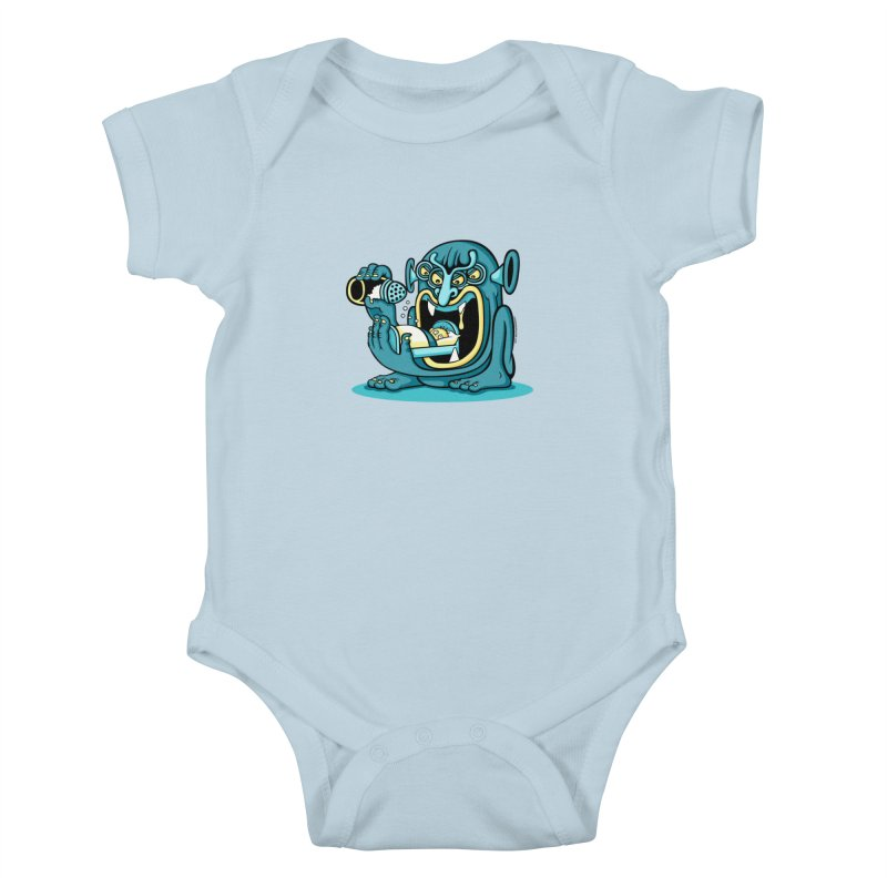 Good Night Salt Kids Baby Bodysuit by cphposter's Artist Shop