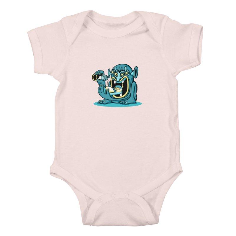 Good Night Salt Kids Baby Bodysuit by cphposter's Artist Shop