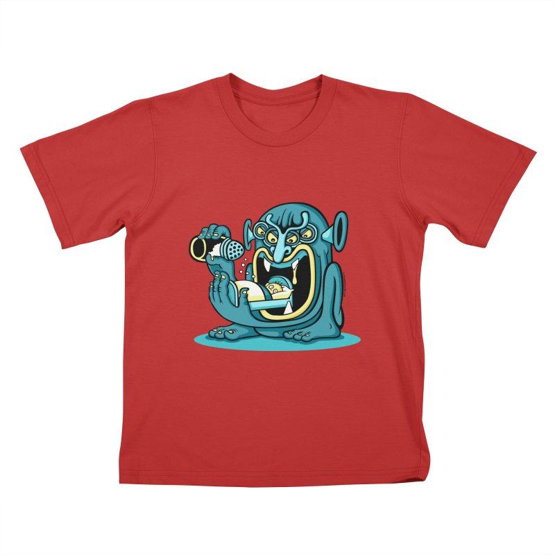 Good Night Salt Kids T-Shirt by cphposter's Artist Shop