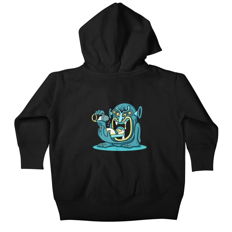 Good Night Salt Kids Baby Zip-Up Hoody by cphposter's Artist Shop