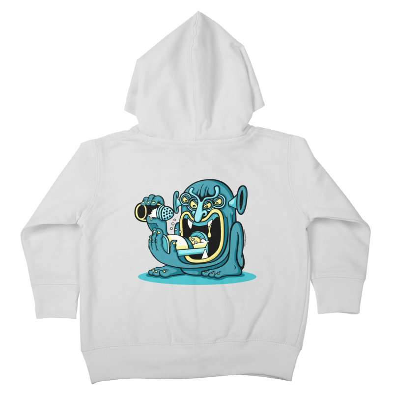 Good Night Salt Kids Toddler Zip-Up Hoody by cphposter's Artist Shop