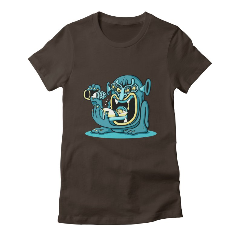 Good Night Salt Women's Fitted T-Shirt by cphposter's Artist Shop