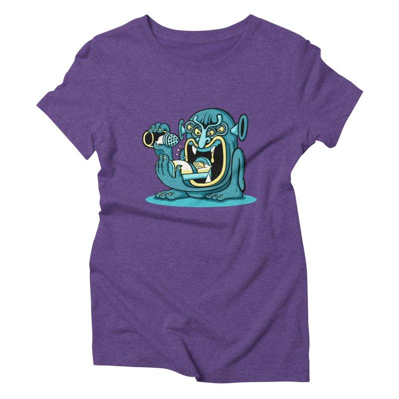 Good Night Salt Women's Triblend T-shirt by cphposter's Artist Shop