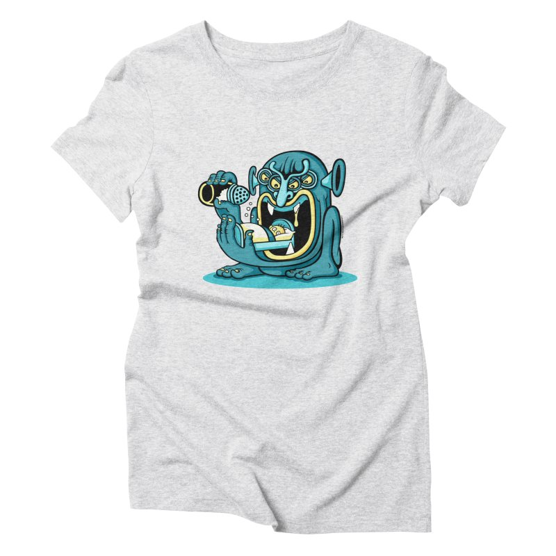 Good Night Salt Women's Triblend T-shirt by cphposter's Artist Shop