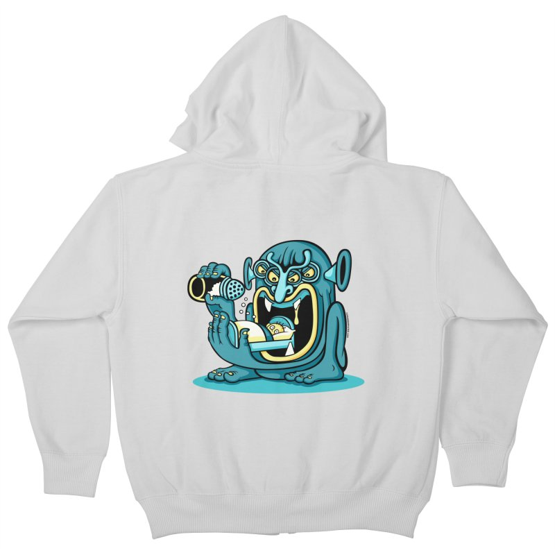 Good Night Salt Kids Zip-Up Hoody by cphposter's Artist Shop