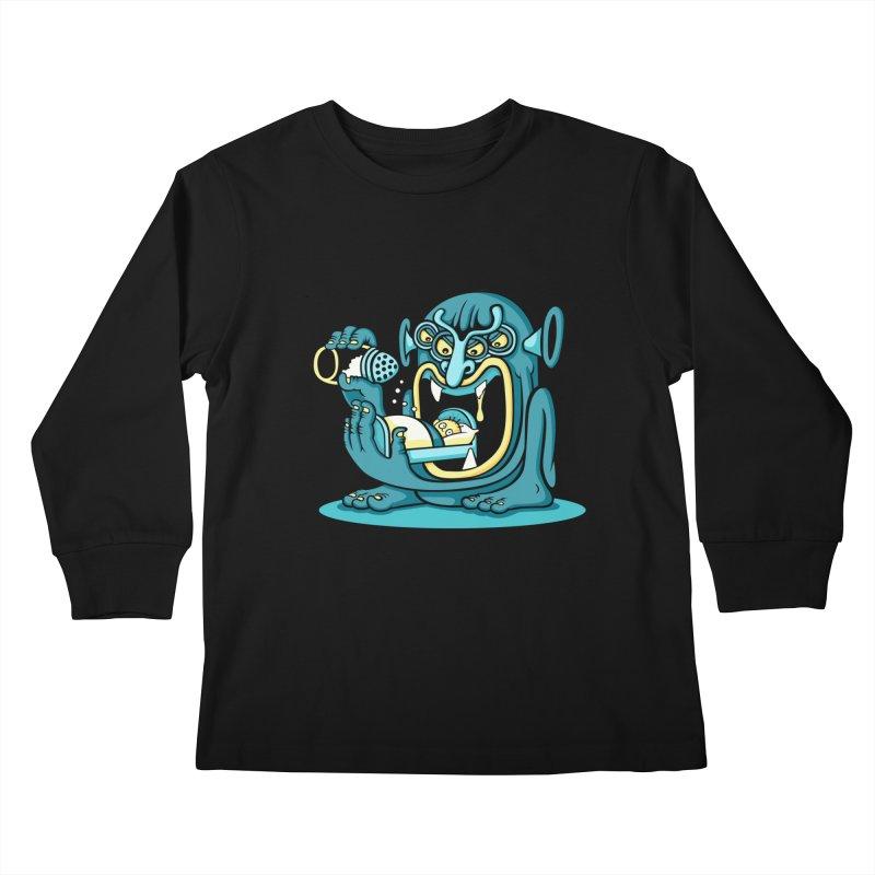 Good Night Salt Kids Longsleeve T-Shirt by cphposter's Artist Shop