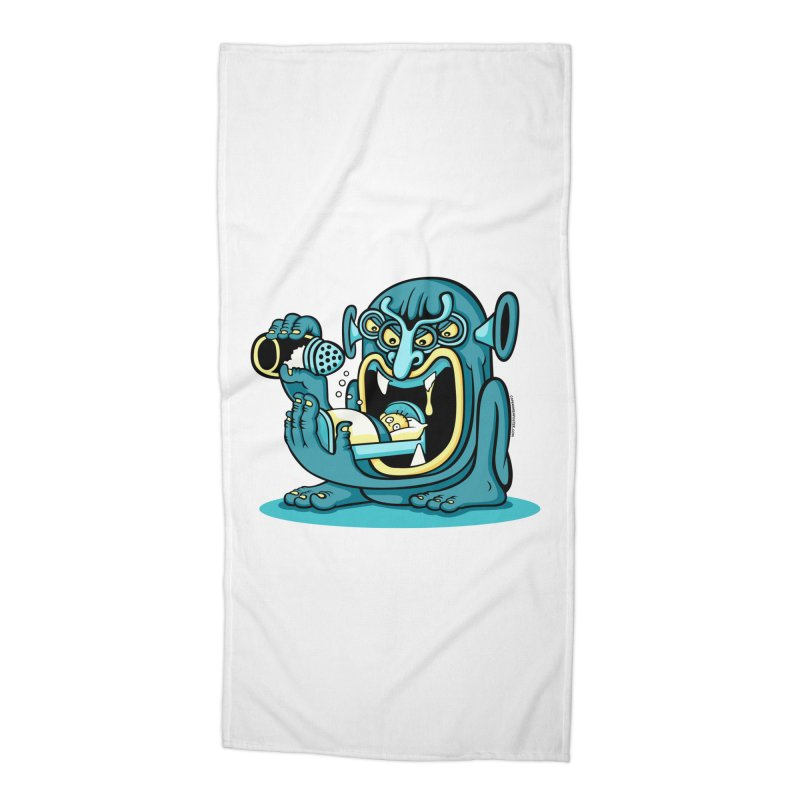 Good Night Salt Accessories Beach Towel by cphposter's Artist Shop