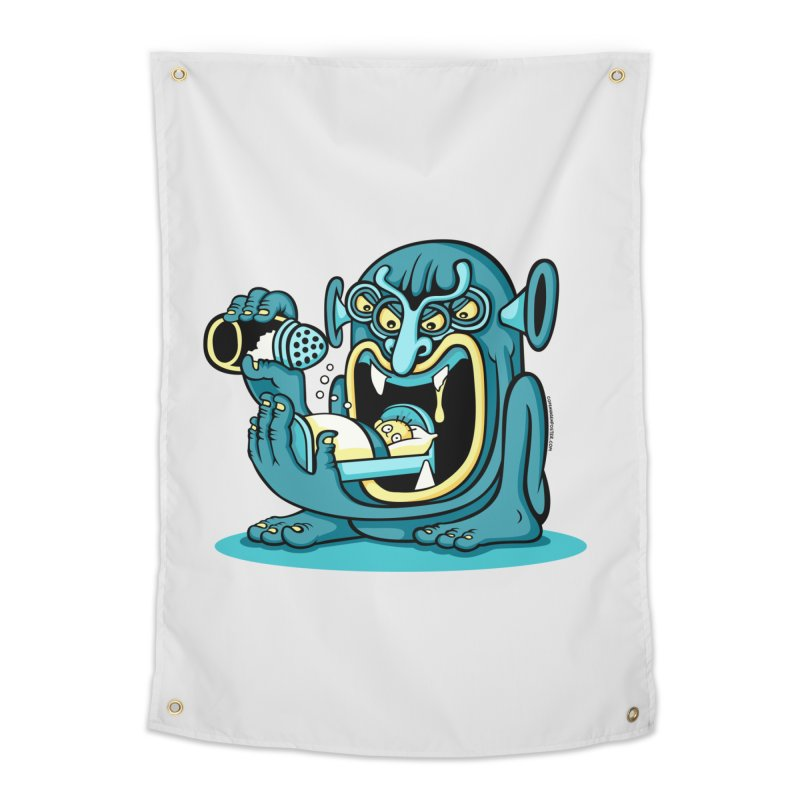 Good Night Salt Home Tapestry by cphposter's Artist Shop
