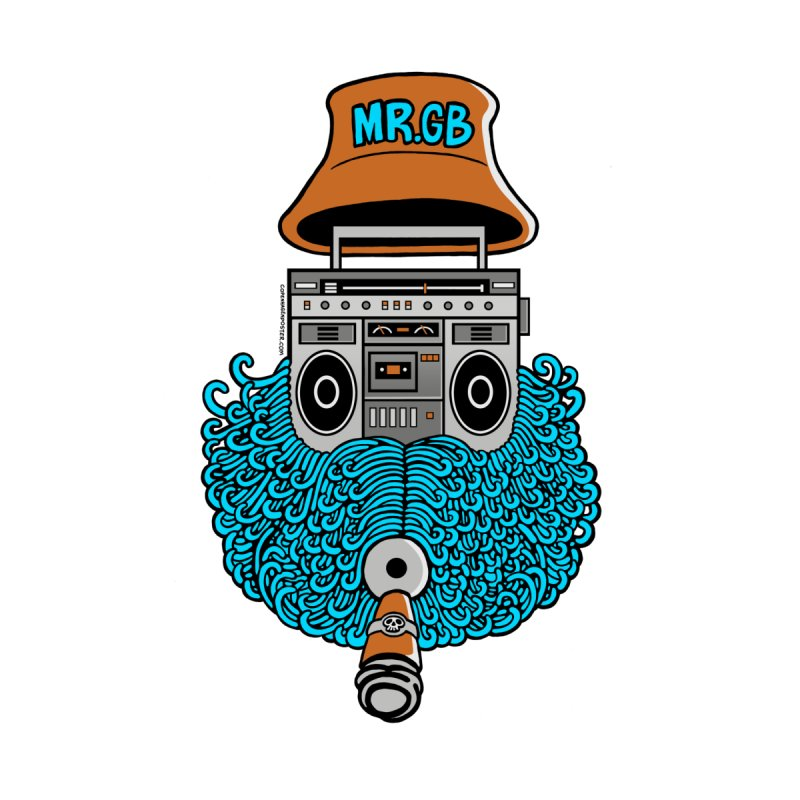 Mr. Ghetto Blaster by cphposter's Artist Shop