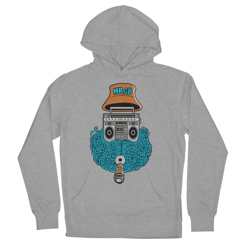 Mr. Ghetto Blaster Women's Pullover Hoody by cphposter's Artist Shop