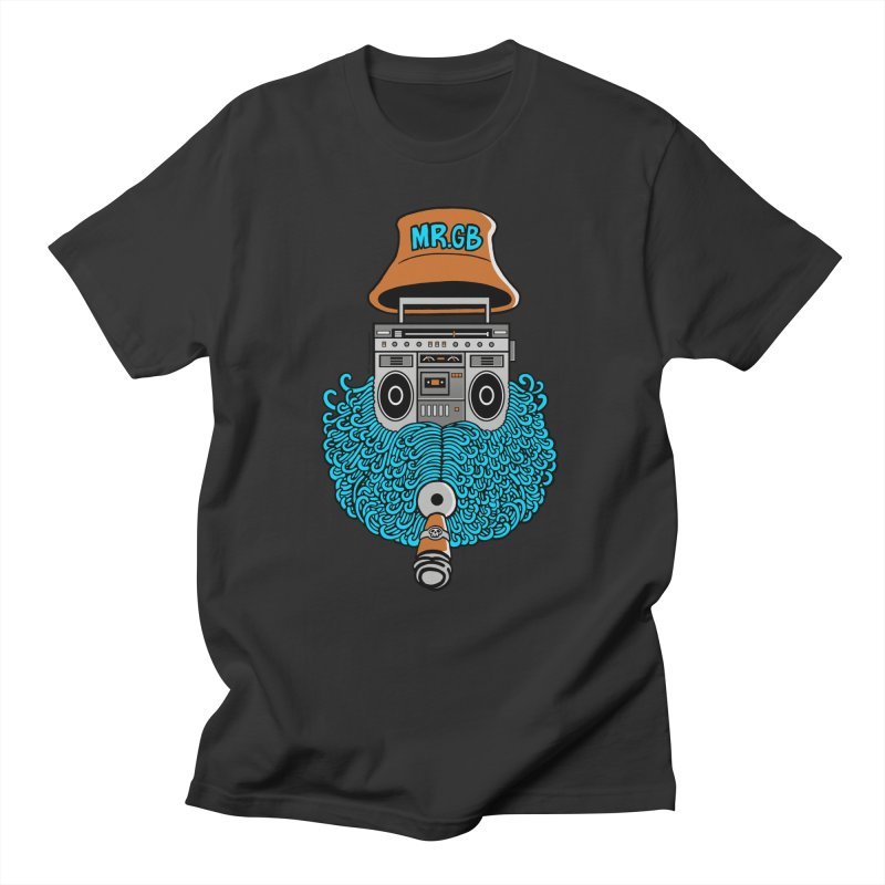 Mr. Ghetto Blaster Women's Unisex T-Shirt by cphposter's Artist Shop
