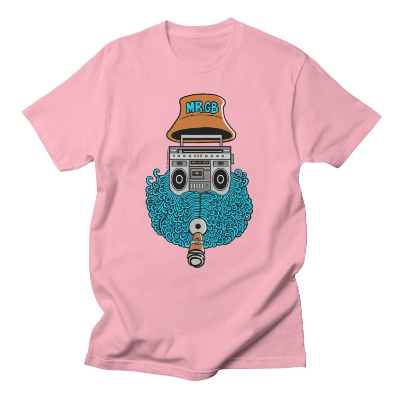 Mr. Ghetto Blaster Men's T-shirt by cphposter's Artist Shop