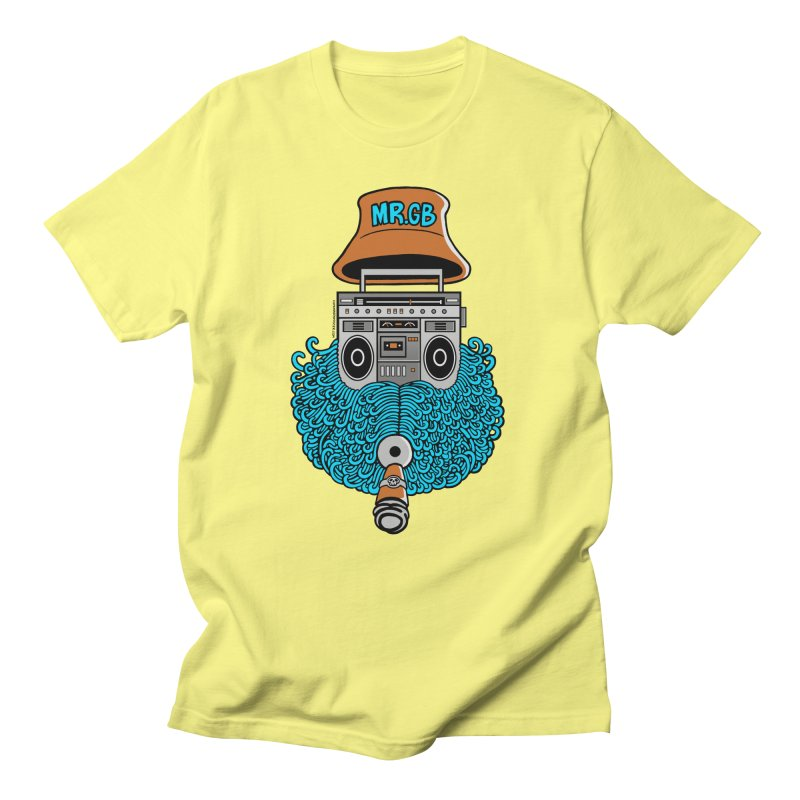Mr. Ghetto Blaster Women's Unisex T-Shirt by cphposter's Artist Shop