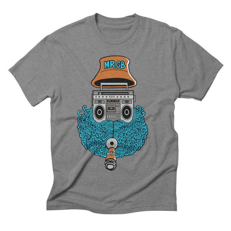 Mr. Ghetto Blaster Men's Triblend T-shirt by cphposter's Artist Shop