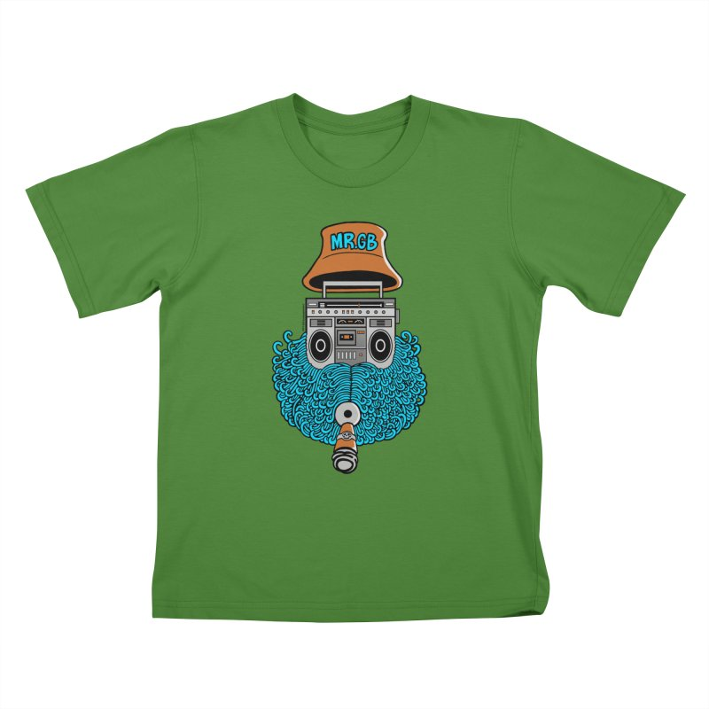 Mr. Ghetto Blaster Kids T-Shirt by cphposter's Artist Shop