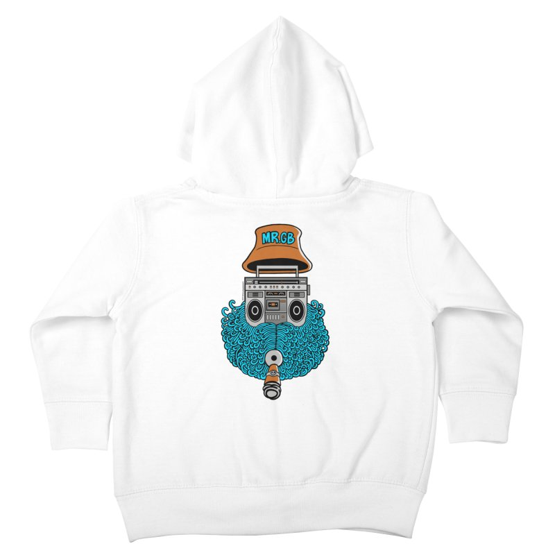 Mr. Ghetto Blaster Kids Toddler Zip-Up Hoody by cphposter's Artist Shop