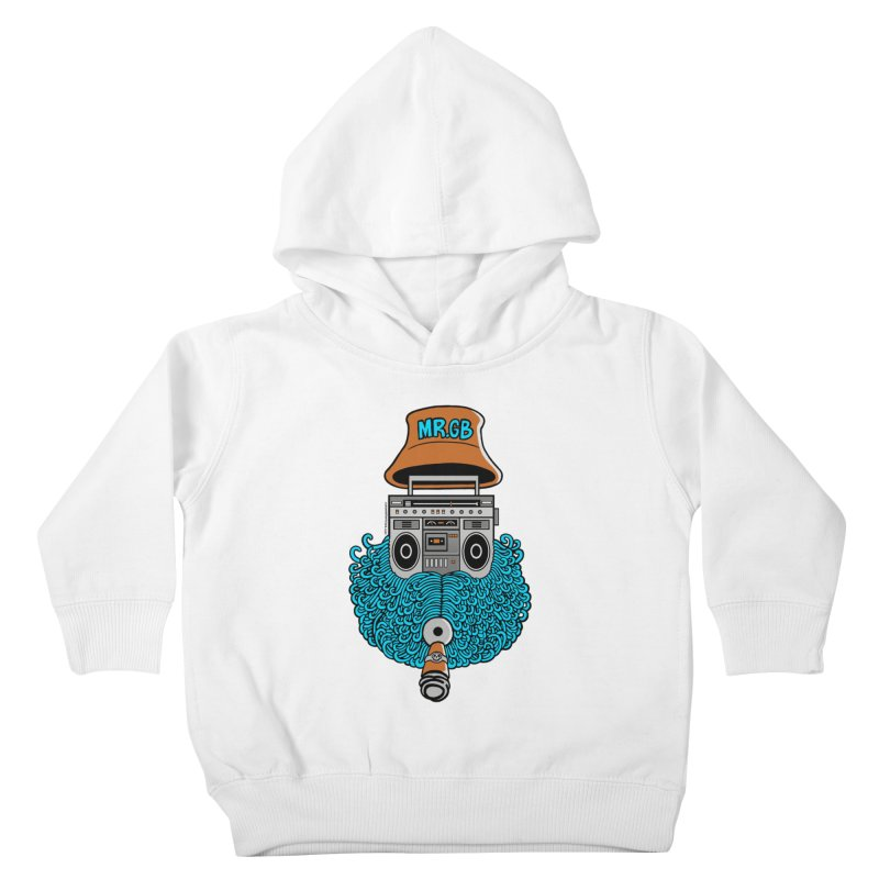 Mr. Ghetto Blaster Kids Toddler Pullover Hoody by cphposter's Artist Shop