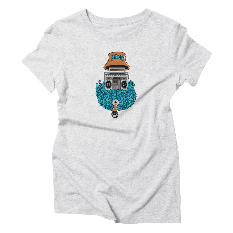 Mr. Ghetto Blaster Women's T-Shirt by cphposter's Artist Shop