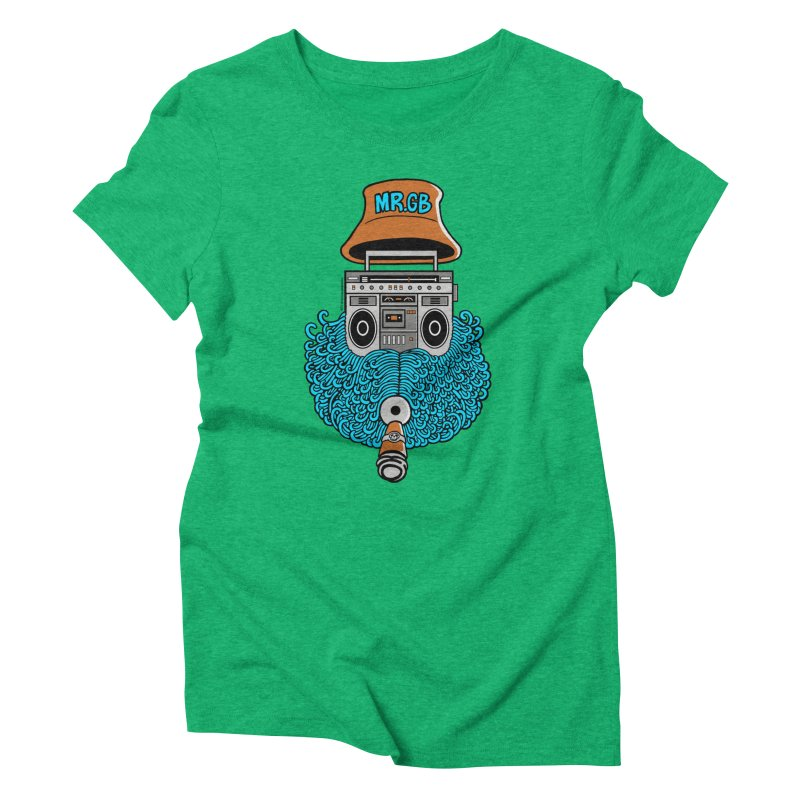 Mr. Ghetto Blaster Women's Triblend T-shirt by cphposter's Artist Shop