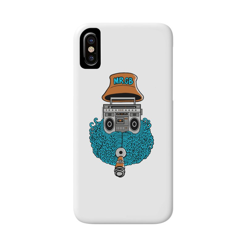 Mr. Ghetto Blaster Accessories Phone Case by cphposter's Artist Shop