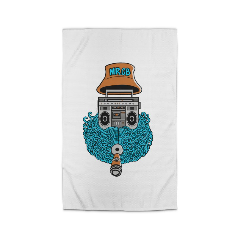 Mr. Ghetto Blaster Home Rug by cphposter's Artist Shop