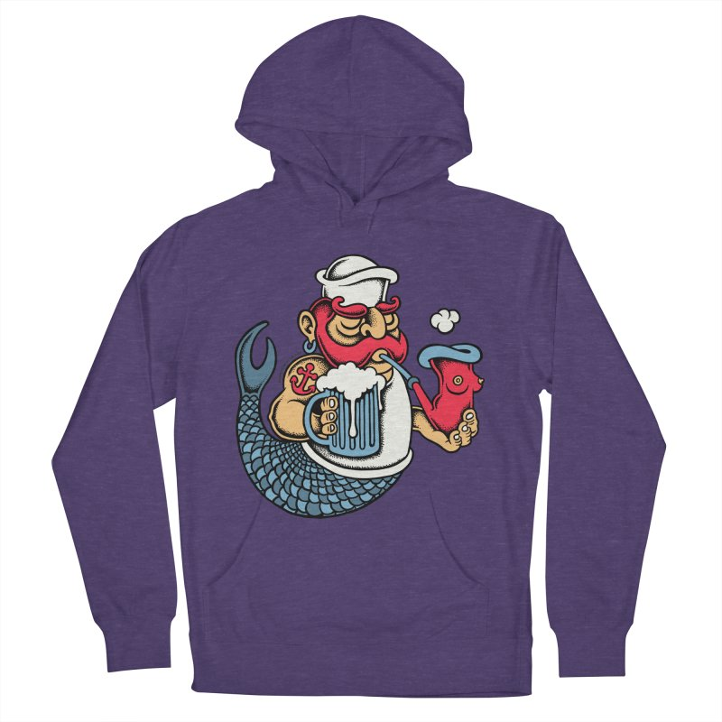 Sailor Mermaid II Women's Pullover Hoody by cphposter's Artist Shop