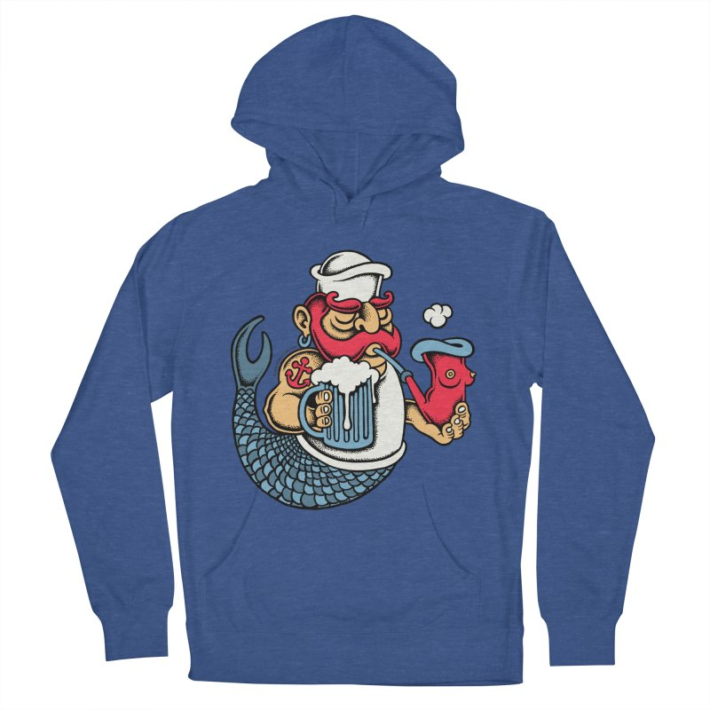 Sailor Mermaid II Men's Pullover Hoody by cphposter's Artist Shop