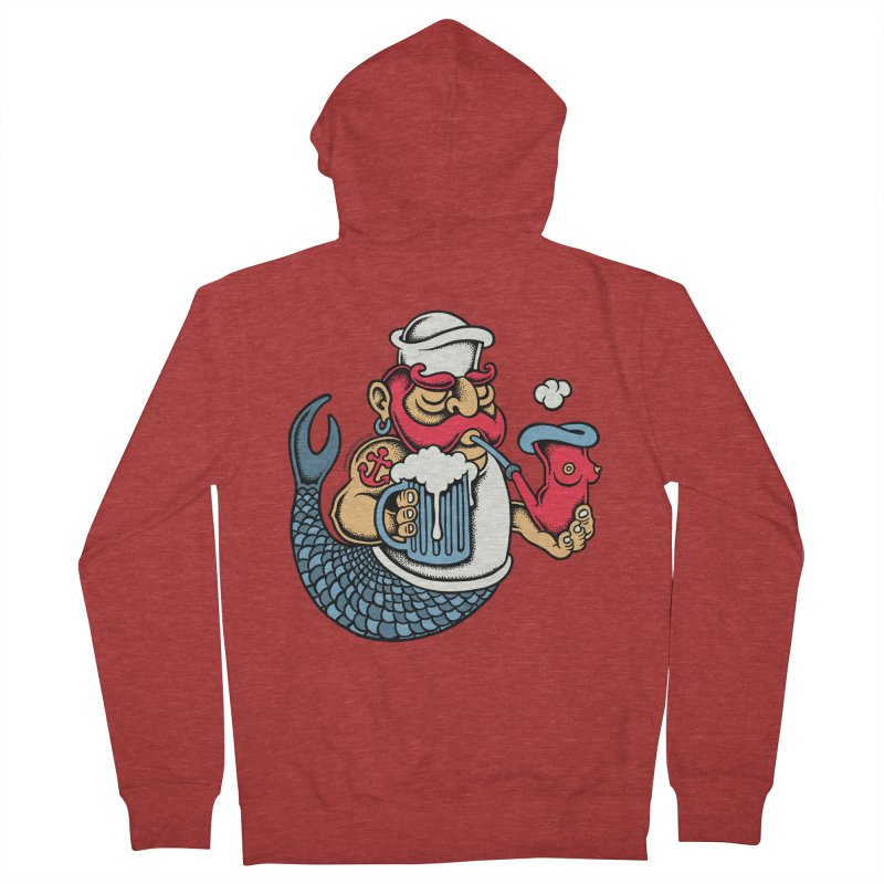Sailor Mermaid II Women's Zip-Up Hoody by cphposter's Artist Shop