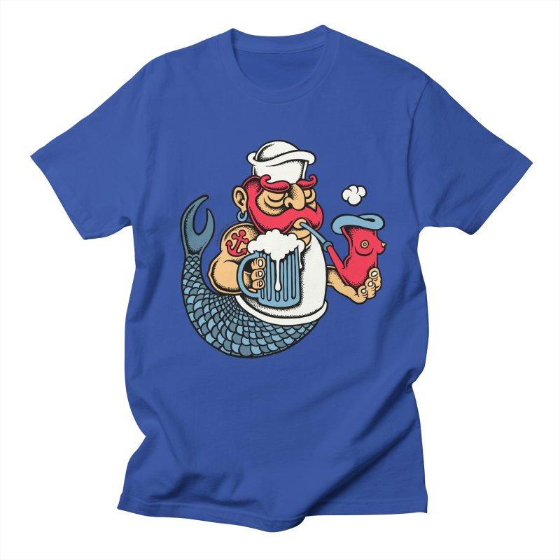 Sailor Mermaid II Women's Unisex T-Shirt by cphposter's Artist Shop