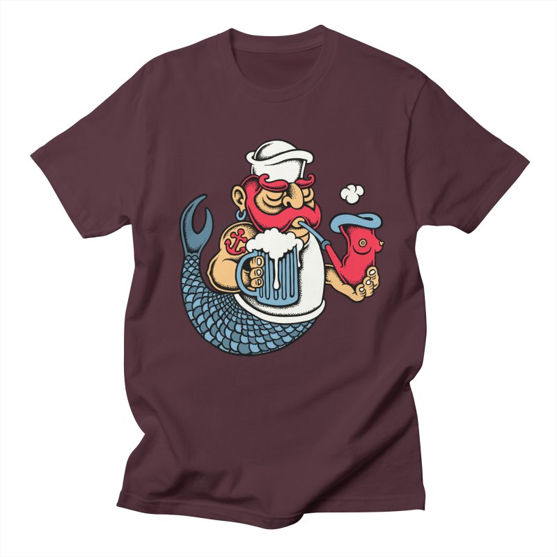 Sailor Mermaid II Women's Unisex T-Shirt by cphposter's Artist Shop