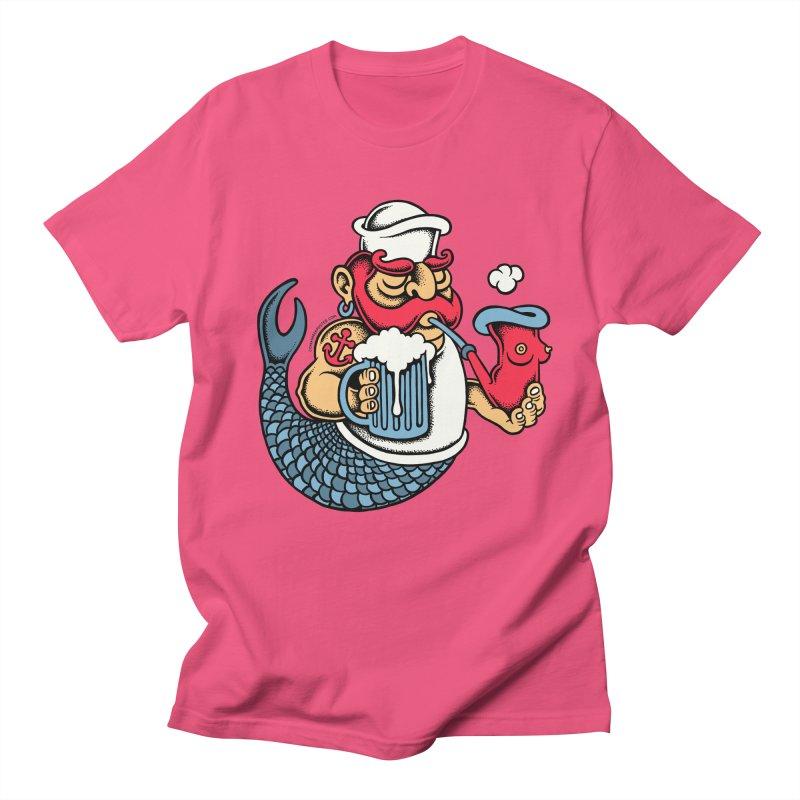 Sailor Mermaid II Men's T-shirt by cphposter's Artist Shop