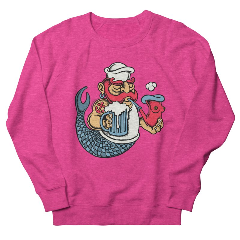Sailor Mermaid II Women's Sweatshirt by cphposter's Artist Shop