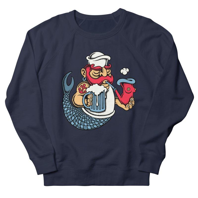 Sailor Mermaid II Men's Sweatshirt by cphposter's Artist Shop