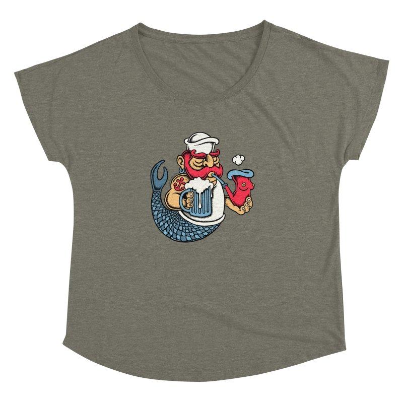 Sailor Mermaid II Women's Dolman by cphposter's Artist Shop