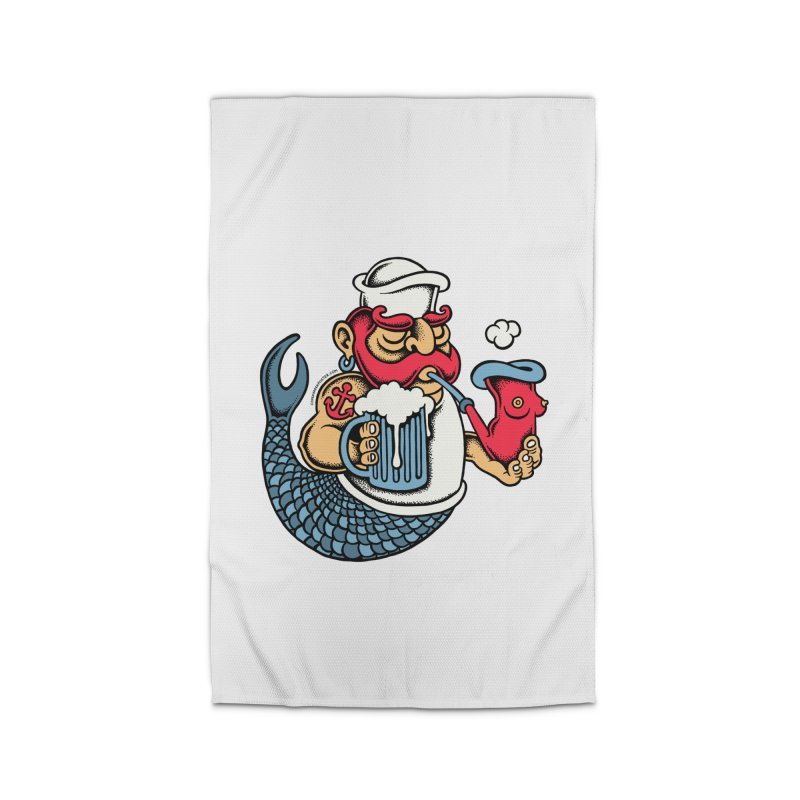 Sailor Mermaid II Home Rug by cphposter's Artist Shop