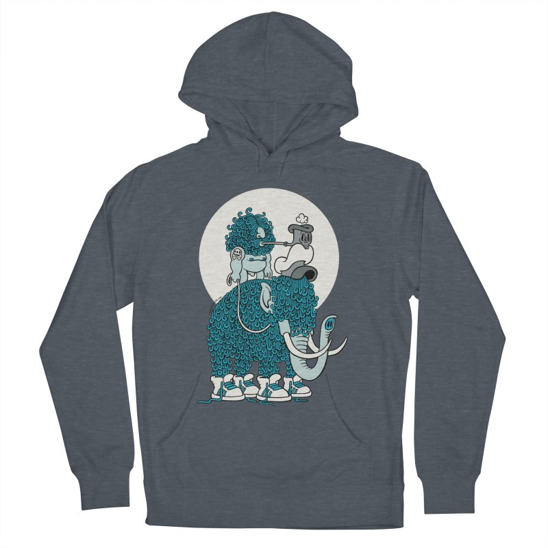 Walking the mammoth Men's Pullover Hoody by cphposter's Artist Shop