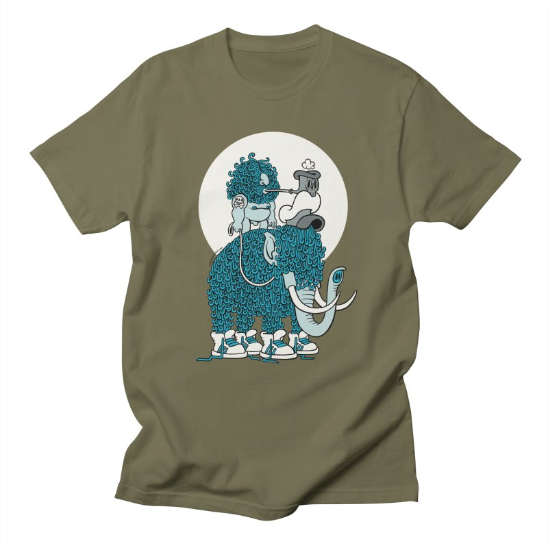 Walking the mammoth Men's T-shirt by cphposter's Artist Shop