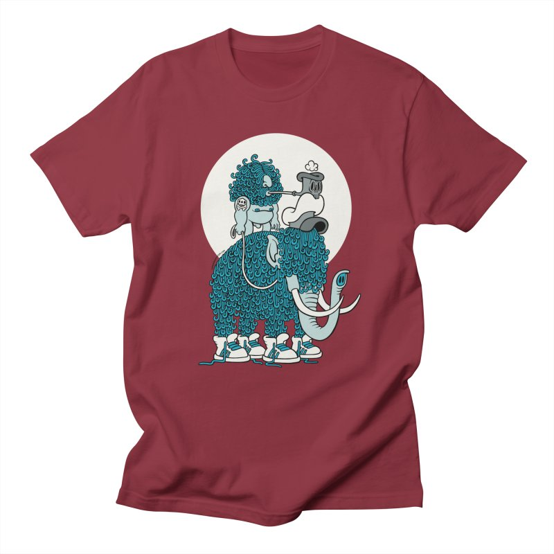 Walking the mammoth Women's Unisex T-Shirt by cphposter's Artist Shop