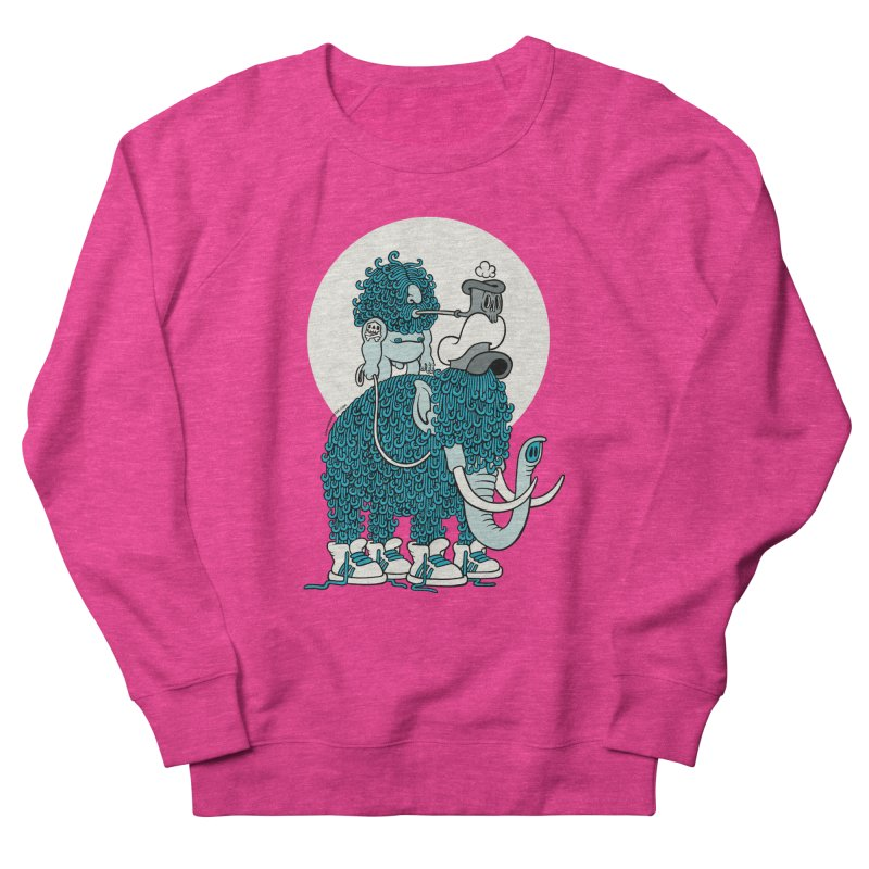 Walking the mammoth Women's Sweatshirt by cphposter's Artist Shop