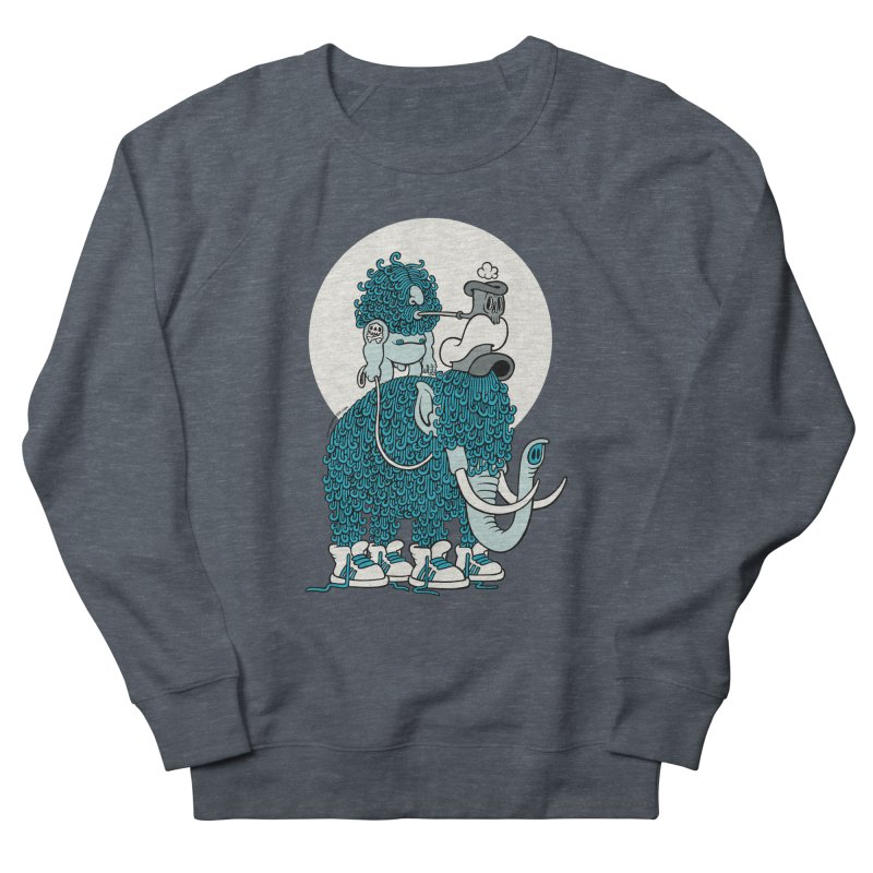 Walking the mammoth Men's Sweatshirt by cphposter's Artist Shop