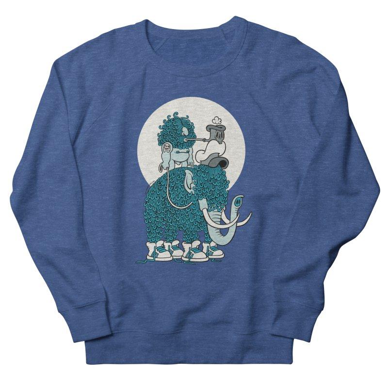 Walking the mammoth Men's Sweatshirt by cphposter's Artist Shop