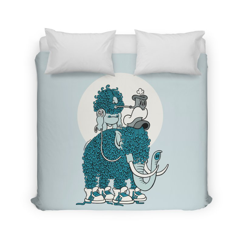 Walking the mammoth Home Duvet by cphposter's Artist Shop