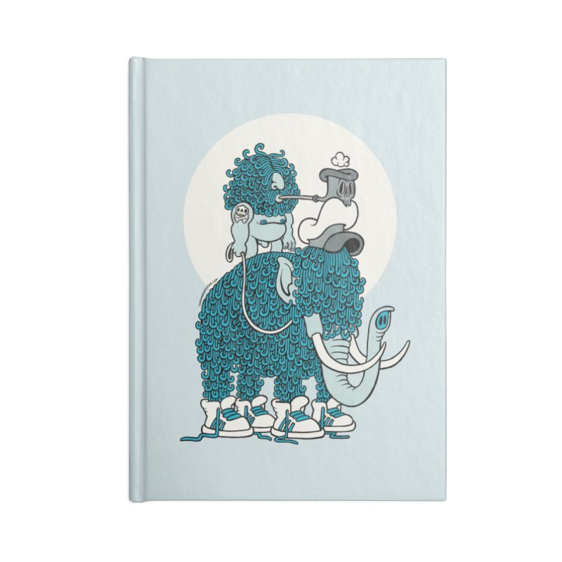 Walking the mammoth Accessories Notebook by cphposter's Artist Shop