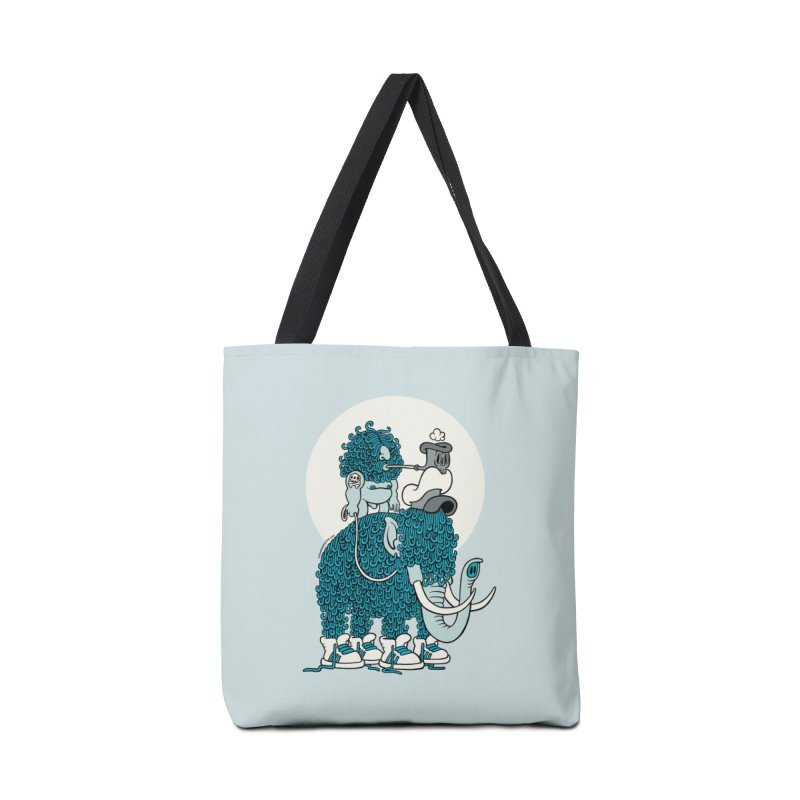 Walking the mammoth Accessories Bag by cphposter's Artist Shop